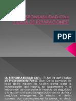 Diapositivas La Responsabilidad Civil y Caja de Reparaciones