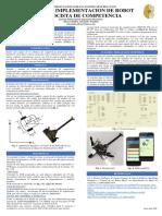 Diseño e Implementación de robot velocista de competencia _POSTER