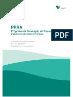 Documento de Desenvolvimento Do PPRA Porto Norte 2017 2018