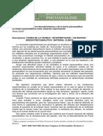TEORIA DE LA TECNICA  INTERPRETACION  VALIDACION.pdf