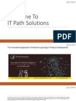 Machine Learning Services - IT Path Solutions