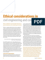 Ethical Considerations in Civil Engineering and Construction