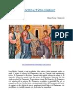 Sfântul Nicolae Velimirovici - TĂMĂDUIREA FEMEII GÂRBOVE.docx