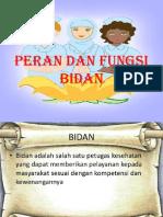 4. Peran & Fungsi Bidan