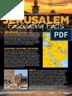 Jerusaelum Fantastic Facts