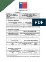 Curriculum Vitae SENAME - Diego Contreras