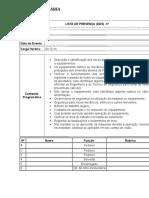 Lista de DDS revisão nº 00.doc