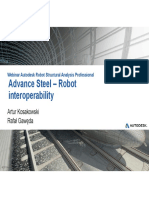 Webinar N°11 Robot Structural Analysis Professional and Advance Steel integration