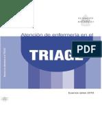 Atencion de Enfermeria en El Triage 2019