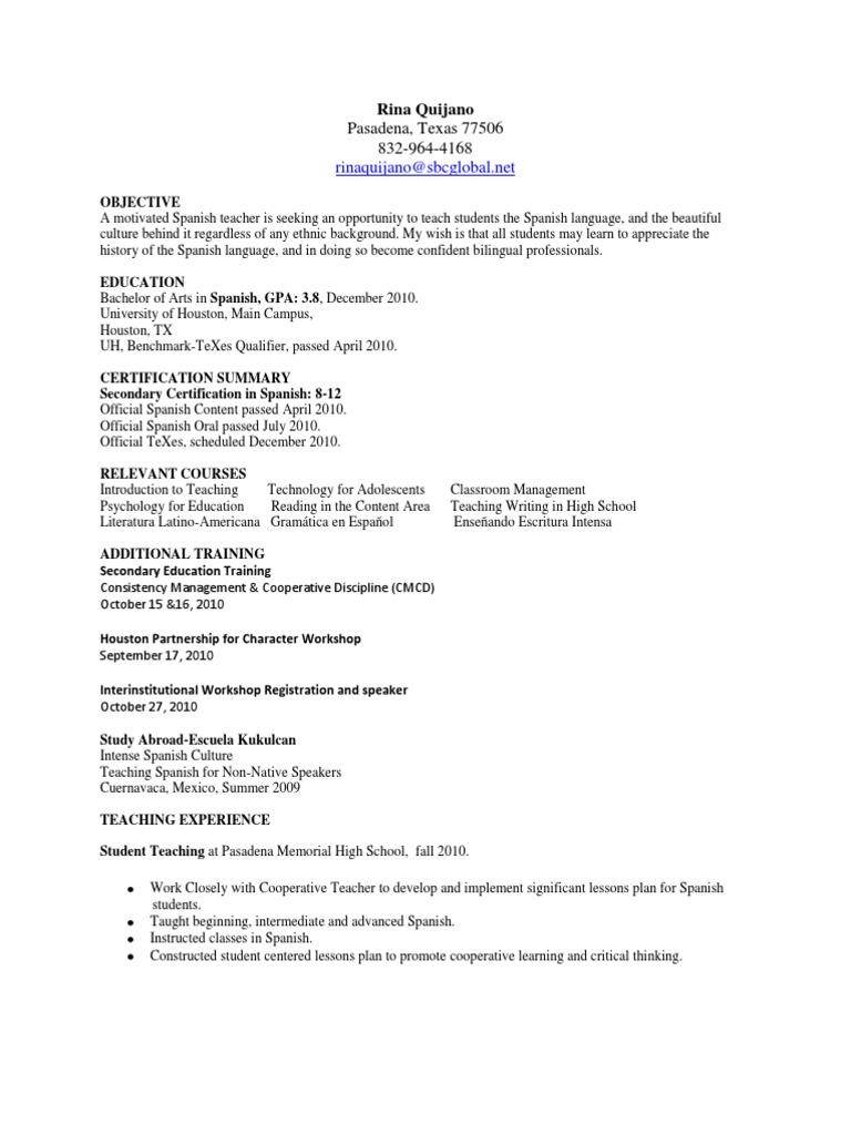 Resume updated teachers lesson plan xflitez Images