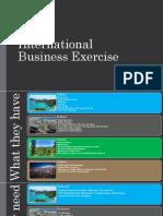 international business exercise