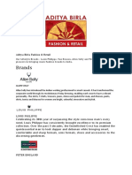 Aditya Birla Fashion and Retail.docx