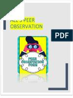 task 2  all peer obervation
