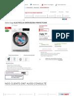 Sèche Linge Electrolux EW9H3825RA PERFECTCARE _ Darty