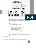 Domestic Transfer Pricing Analysing the Impact on Tax Holiday Undertakings