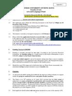 Appendix 1 - 1st Round Guideline 2019-20