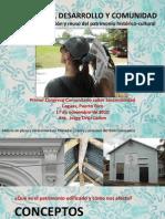 Patrimonio Desarrollo y Comunidad
