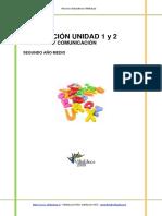 Evaluacion Lenguaje 2medio Unidad1y2 2009