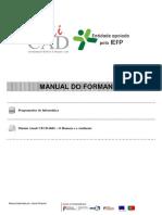 Manual Formação_UFCD O Homem e o Ambiente