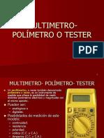 Uso Multi Tester