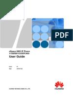 Manual de Usuario ESpace 6805 IP Phone -Mio