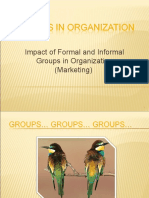 Groups in Organisation