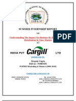Deepak Gupta03 Cargill Internship Report