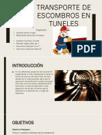 Tuneles 1° parte