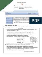 Prueba de  LENGUAJE 3°A Lista para imprimir.docx