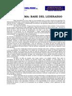 Autoestimabase Del Liderazgo