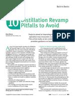 10_Distillation Revamp Pitfalls to Avoid