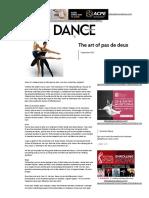 The art of pas de deux - Dance Australia.pdf