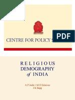 Dr. J K Bajaj - Religious Profile 2013-Indore