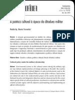 A política cultural à época da ditadura militar.pdf