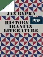 jan rypka history iranian literature