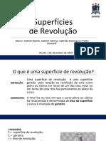 Superfícies de Revolução