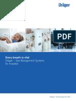 GMS System Draeger Medical Gas