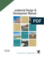 Residential Design & Development Manual