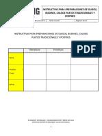 DC N°6 PROCEDIMIENTO INSTRUCTIVO PARA PREPARACIONES DE GUISOS, BUDINES, CALDOS, PLATOS TRADICIONALES Y PORTRES  SGSSO COOKING & INNOVATION CENTER, LOS VILOS..docx
