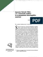 Emeterio Valverde Téllez y la orientacion catolica en el pensamiento mexicano.pdf