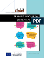 Training Module on Entrepreneurship - RAISE Project