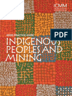 ICMM Indigenous Peoples and Mining Good Practice Guide