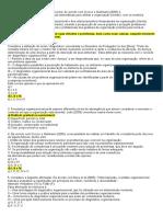 Questionário Auditoria e Consultoria