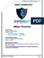 Abhigya Foundation Proposal New