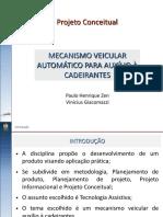 Mecanismo Veicular Automático Para Auxílio a Cadeirantes
