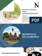Monopolios en Cajamarca