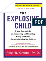 [2014] Explosive Child, The by Ross W. Greene PhD |  A New Approach For Understanding And Parenting Easily Frustrated, Chronically Inflexible Children | HarperPb