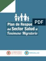 plan de respuesta del sector salud