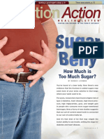 wellness nutrition action sugar belly