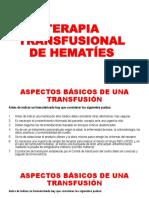 TERAPIA TRANSFUSIONAL DE HEMATÍES.pptx